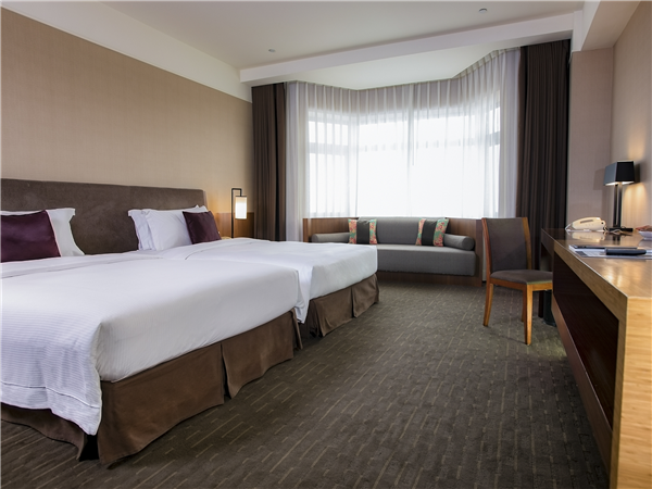 宜蘭 蘭城晶英酒店_客房_精緻雙人房(2小床)
