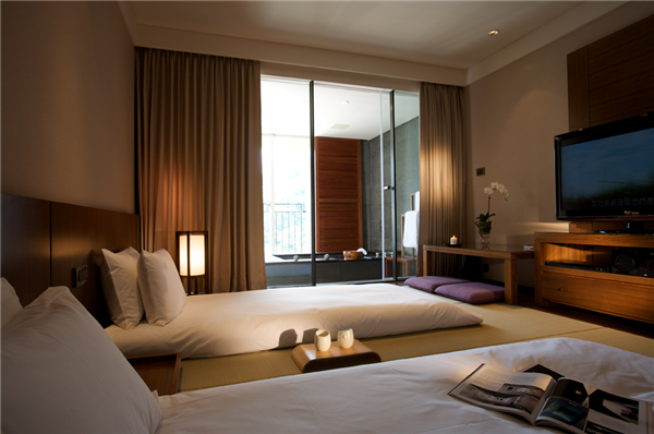 宜蘭蘇澳 瓏山林冷熱泉度假飯店_客房_和式雙湯客房