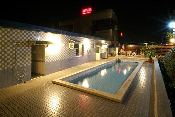 桃園龍潭 樸隄商務旅館_游泳池_游泳池