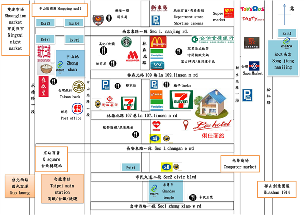 台北 俐仕商旅_商店_商店