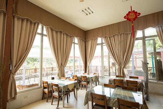 台中新社 梅林親水岸渡假民宿_餐廳_餐廳