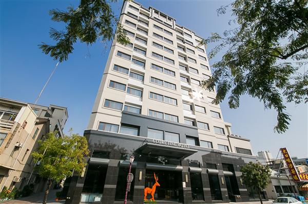 台南 榮美金鬱金香酒店_酒店外觀_酒店外觀