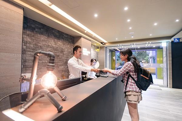 背包客青年旅舖-奇異果台中站前二館_環境_環境