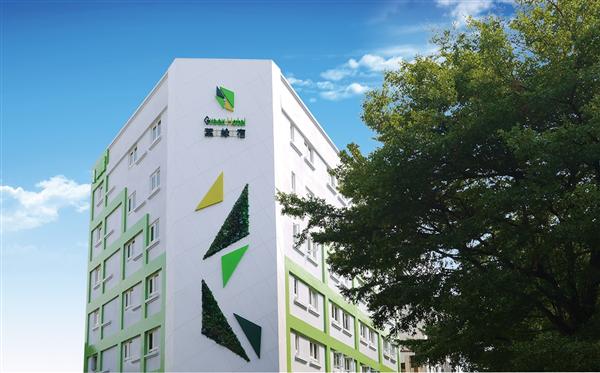 台中 葉綠宿旅館_酒店外觀_酒店外觀