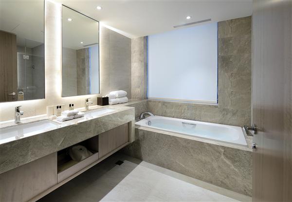 新北板橋 凱撒大飯店_客房_Contemporary Triple當代三人浴室