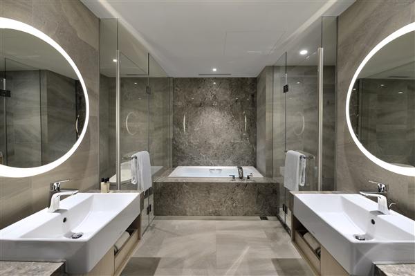 新北板橋 凱撒大飯店_客房_Deluxe豪華客房浴室