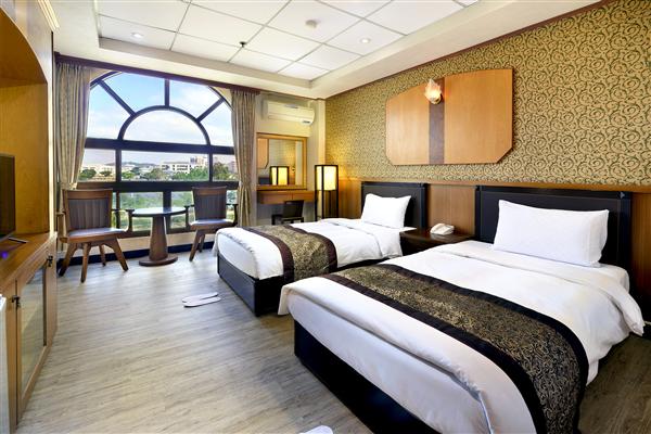金門 金沙湖畔渡假會館_客房_標準雙人房 2小床