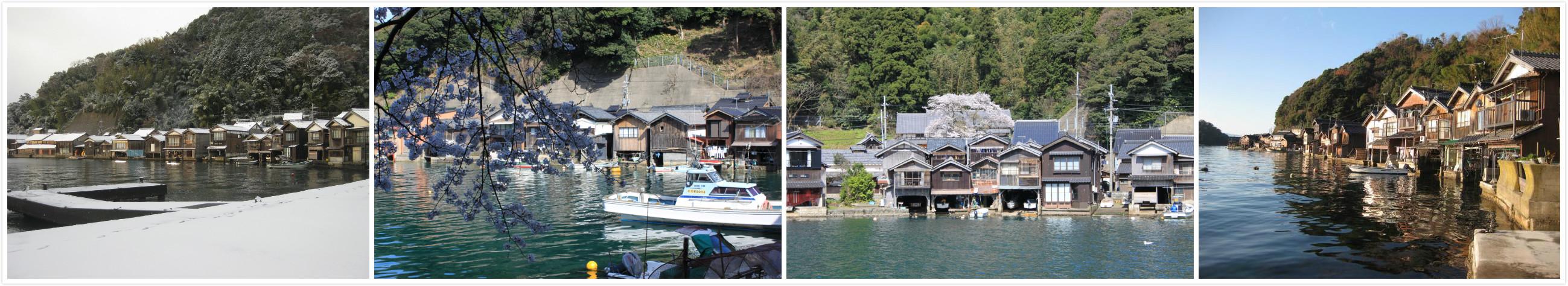 日本威尼斯 伊根舟屋散策