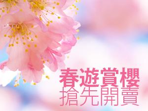【台灣虎航.櫻花朵朵開】超值大阪自由行5日