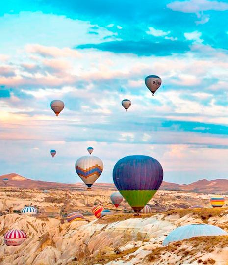 【土耳其航空。直飛】尊爵深度土耳其番紅花熱氣球之旅11日