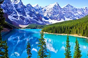 加拿大發燒賣~洛磯冰原雪車、最美露易絲湖、閒情班夫小鎮、OUTLET購物趣10日