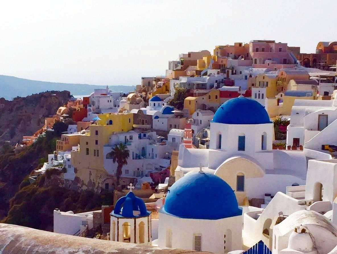 易起飛➤湛藍希臘遊雙島 天空之城德爾菲 諸神傳說十天