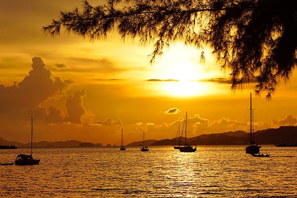 樂晴蘭卡威~豔陽芭椰島、離島生態遊、彩虹天空步道、檳城博物館五日