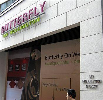 香港中環晉逸精品酒店 Butterfly on Wellington
