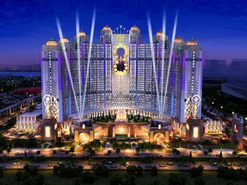 澳門新濠影匯 Studio city Macau