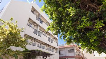 喜璃癒志住在旭橋站前公寓渡假村 Kariyushi Condominium Resort Living inn Asahibashi Ekimae