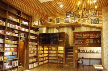 芥末床與圖書館旅館 - 青年旅舍 HOSTEL WASABI Osaka Bed with Library
