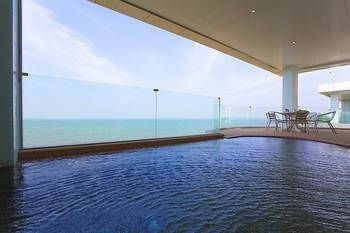 海洋邊緣海景 B 景觀 - 芭達雅奢華公寓飯店 Ocean Fringe Sea-View Apartment B – Luxury Accommodation in Pattaya